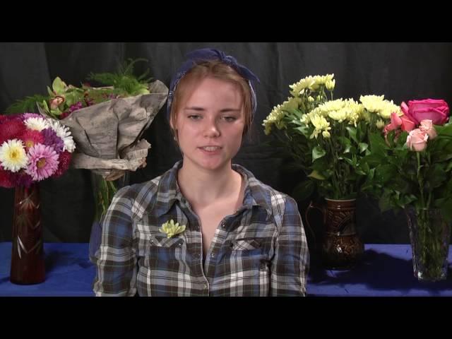 Гусева Екатерина Мусина Валентина читает произведение «Полевые цветы» (Бунин Иван Алексеевич)