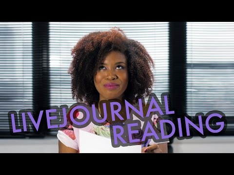 EMBARRASSING LIVEJOURNAL POSTS | Akilah Obviously