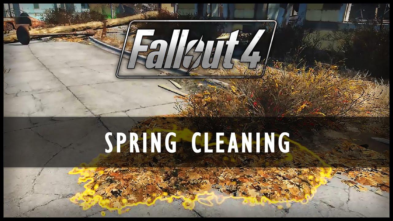 このModがスゴイ】『Fallout 4』ユーザー待望「Spring Cleaning」拠点を