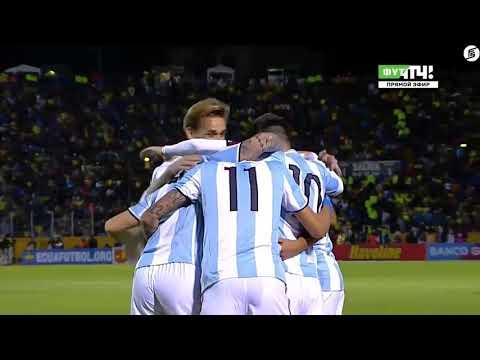 Ecuador vs Argentina 1-3 - Highlights & Goals - 10 October 2017