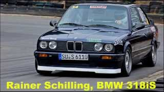Ralf Orth vs Rainer Schilling, BMW 320iS vs 318iS Duell, Auto Slalom Hagen 14.04. 2013