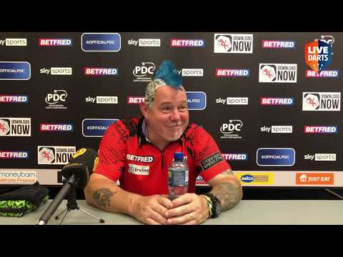 """Peter Wright: """"I just try to wind them all up, If they bite, they bite. I'm backing up what I said"""""""