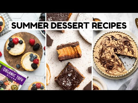 Easy Vegan Summer Dessert Recipes