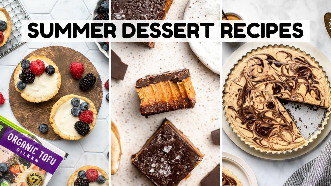 Easy Vegan Summer Dessert Recipes