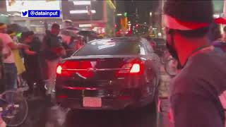 NYPD identifies owner of car that drove through BLM protesters