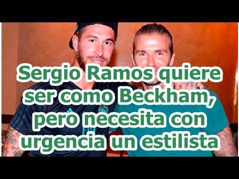Sergio Ramos quiere ser como Beckham 3b9022fe37c
