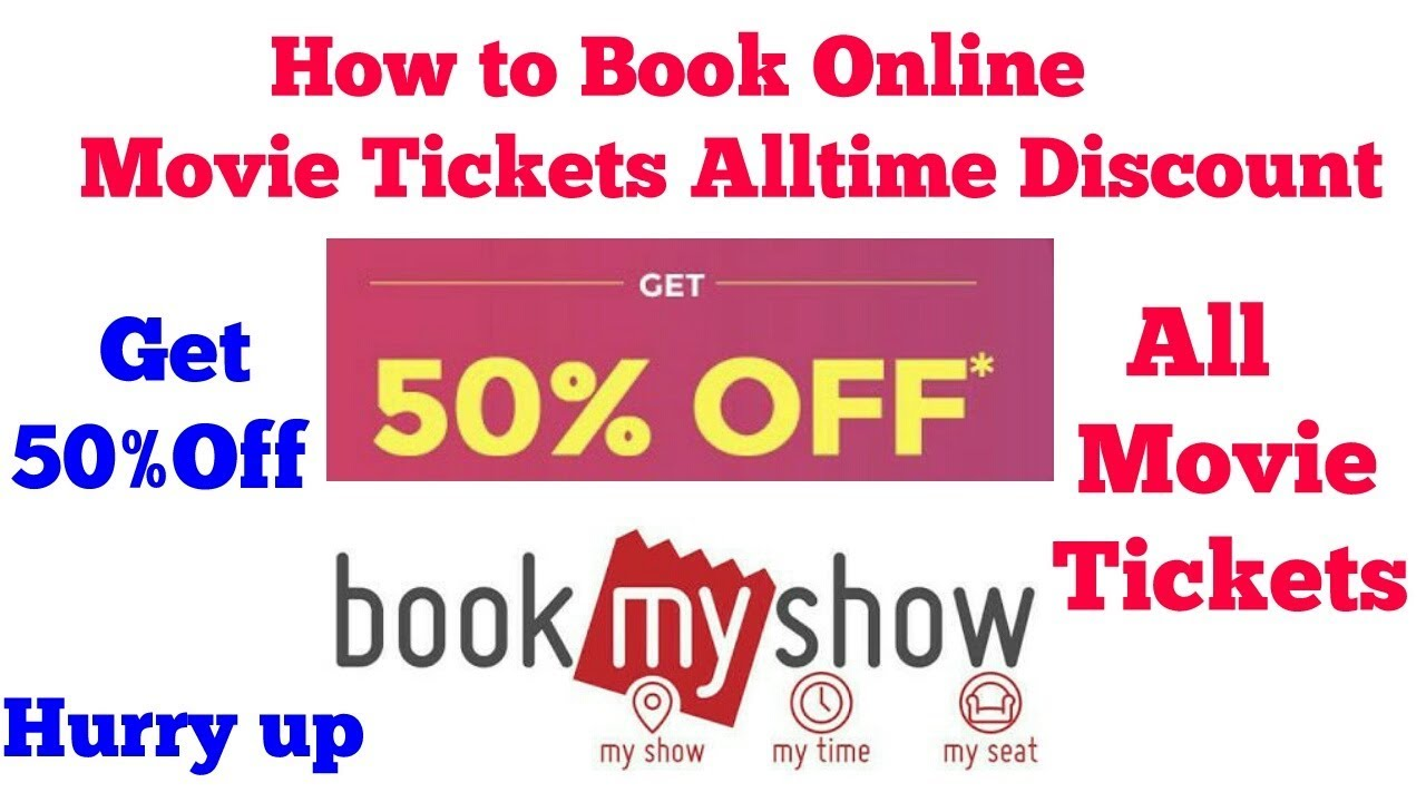 How to Book Movie tickets Online On Book My Show ???