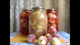 Вкусные заготовки на зиму из персика