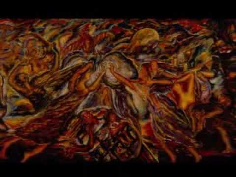 Nabil Kanso: Lebanon painting - 1983