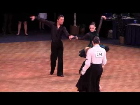 Sam Burekhovich & Elisabeth Drabkin. U.S. Dancesport Nationals. Part 3