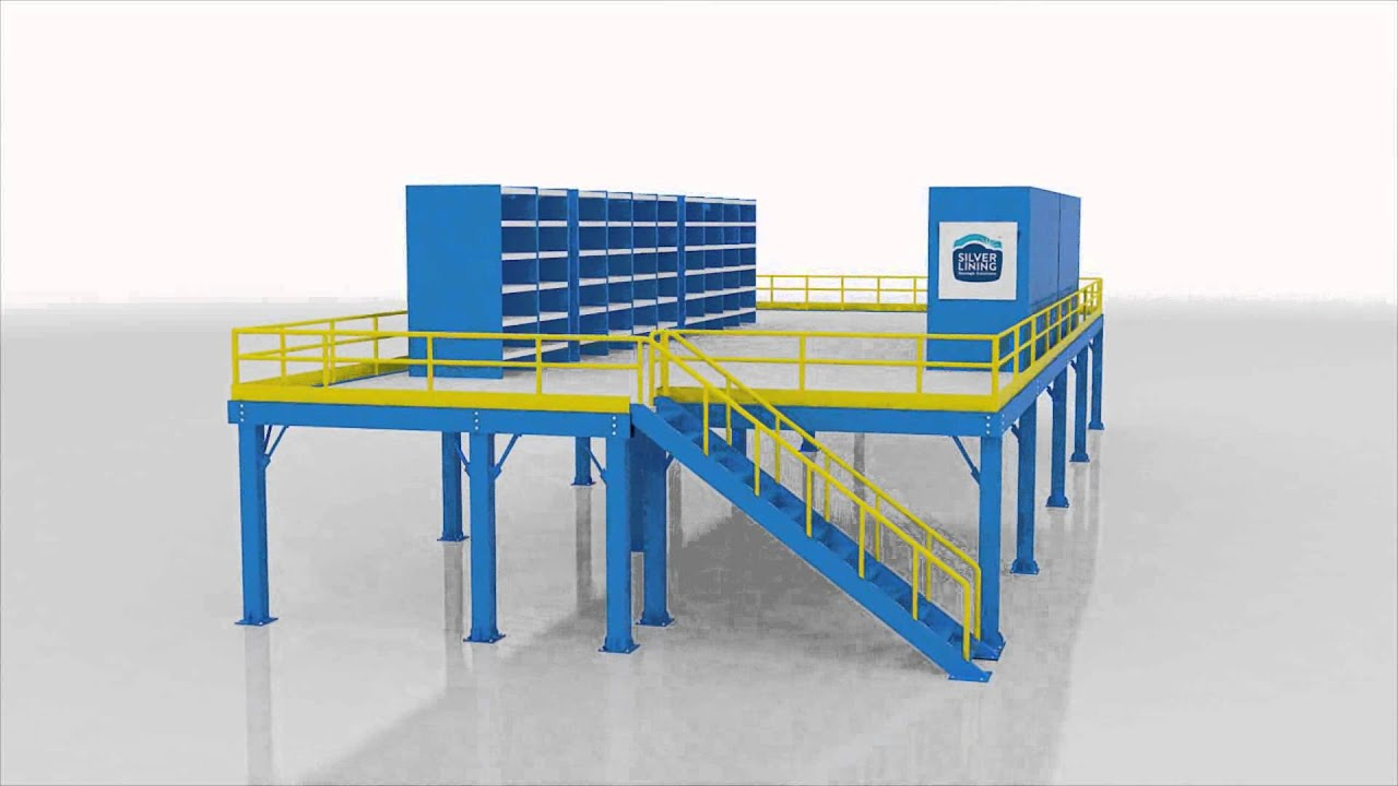 Mezzanine floor system manufacturers silver lining youtube for How do i build a mezzanine