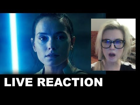 Star Wars The Rise Of Skywalker Final Trailer REACTION