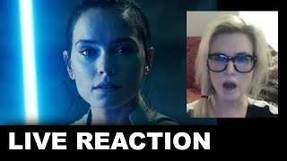 Star Wars The Rise of Skywalker Final Trailer REACTION