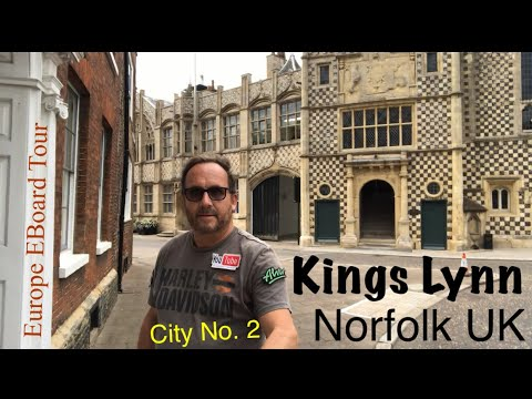 Europe Tour - City No.2 - King's Lynn - Andrew Penman EBoard Reviews-Vlog No.120