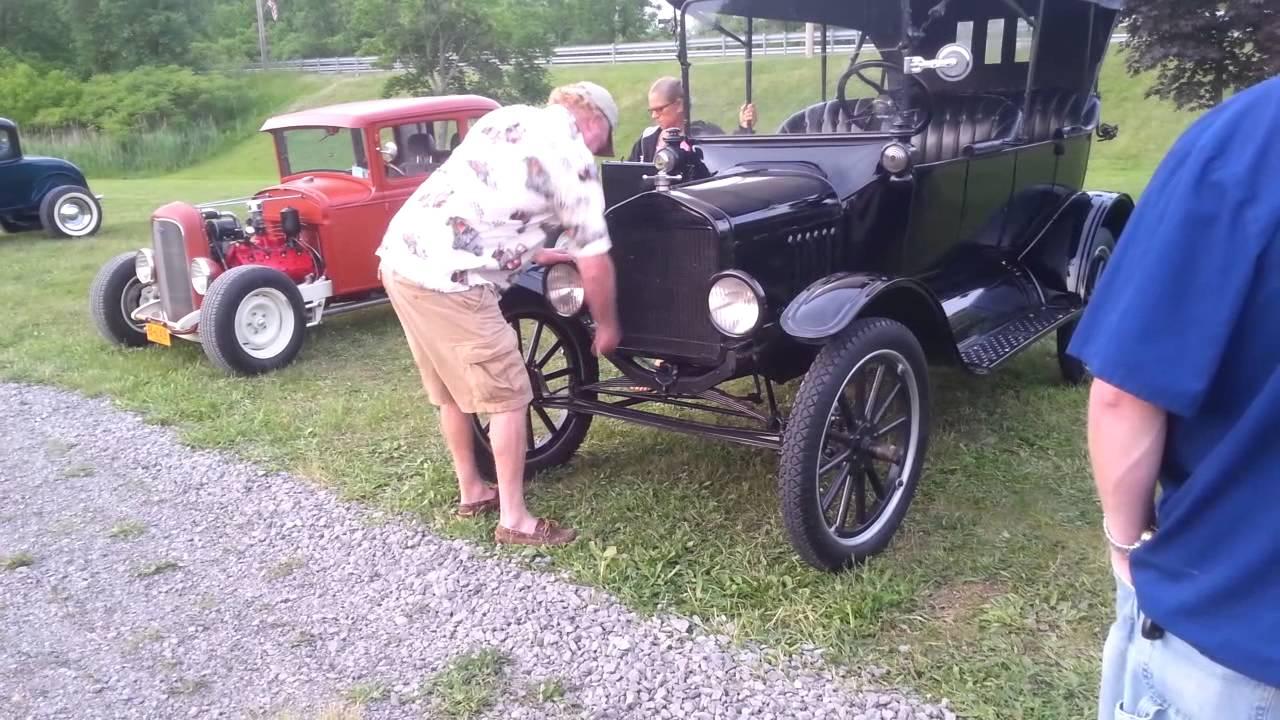 Model T Hand Crank Start