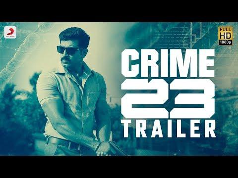 Crime 23 - Official Telugu Trailer | Arun Vijay | Arivazhagan | Vishal Chandrashekhar