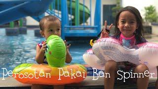 Video Zara Perosotan di Kolam Renang pakai Ban Spinner 😍 Seru !!! Kolam Renang Anak Anak di Tangerang download MP3, 3GP, MP4, WEBM, AVI, FLV September 2017
