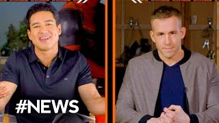 Ryan Reynolds Deadpool R Rated! INTERVIEW (or PG-13?) - #NEWS