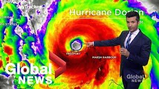 Hurricane Dorian has weakened, but remains a threat to U.S. east coast