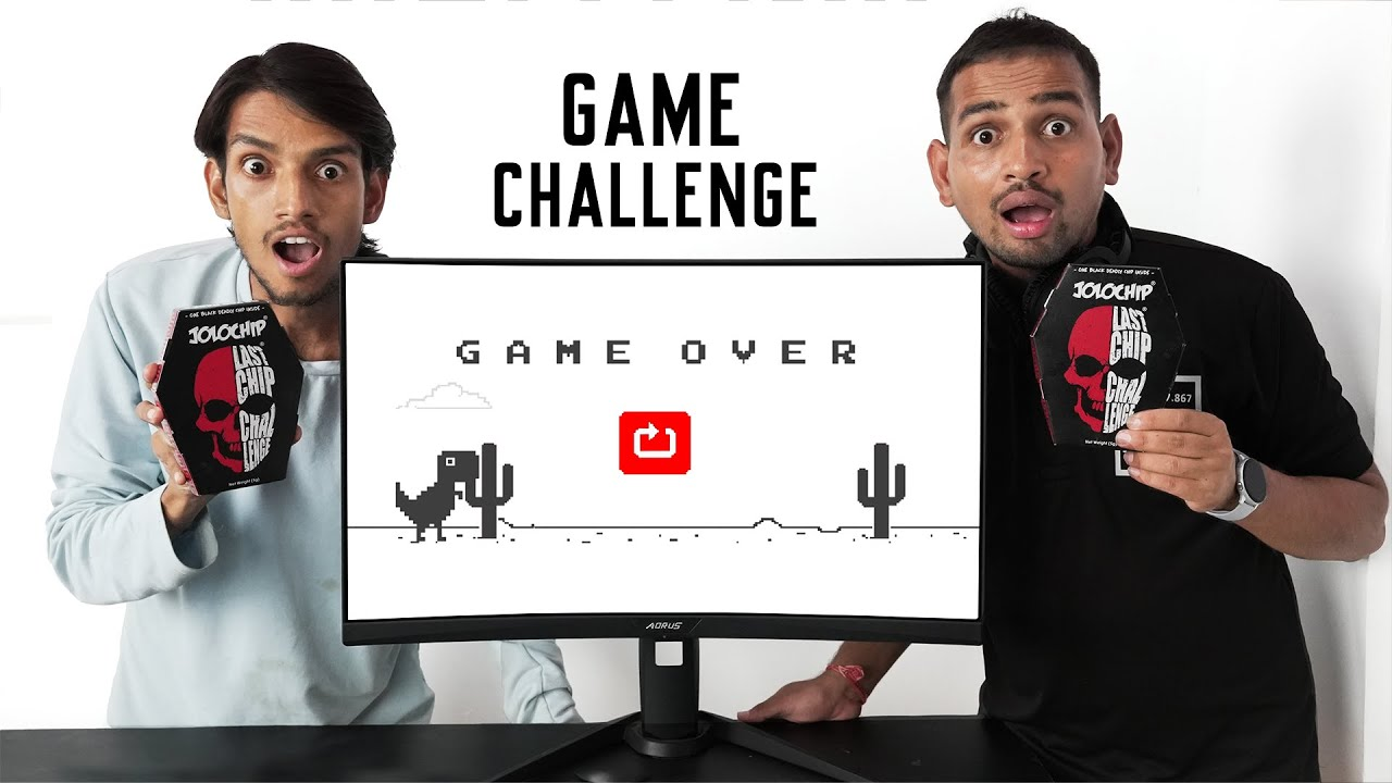 Loser Will Eat Jolo Chips - Chrome Dragon game Challenge