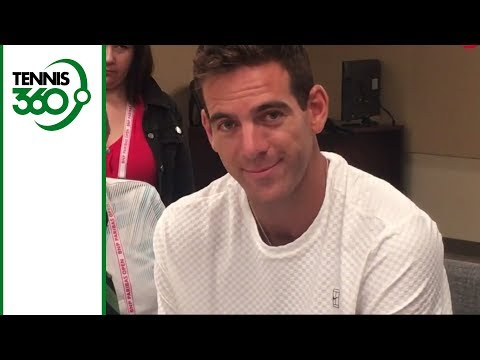 Juan Martin del Potro, Simona Halep joke around on Indian Wells media day