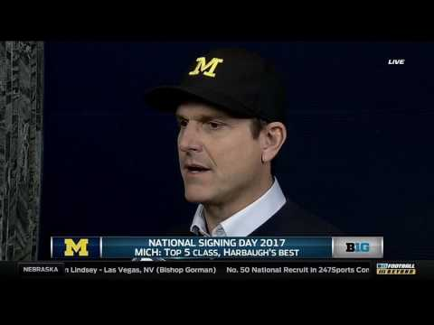 Jim Harbaugh on Recruiting