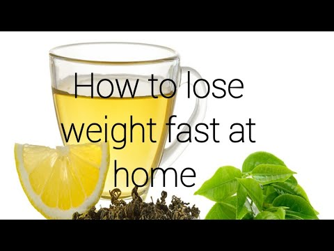 How to lose weight fast at home without any exercise