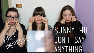Watch Sunny Hill Dont Say Anything video
