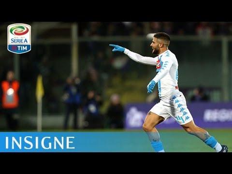 Il gol di Insigne - Fiorentina - Napoli - 3-3 - Giornata 18 - Serie A TIM 2016/17