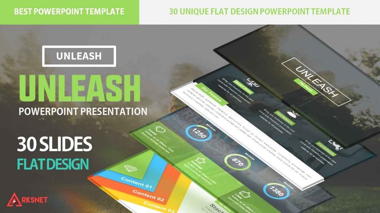Unleash Morph Powerpoint Template Free Download Youtube