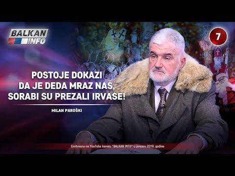 INTERVJU: Milan Paroški - Postoje dokazi da je Deda Mraz naš, Sorabi su prezali irvase! (14.1.2019)