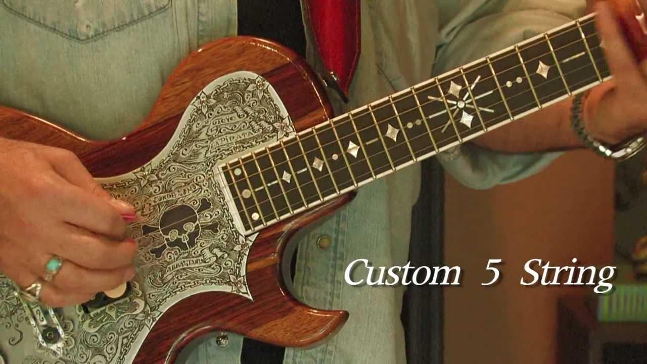 teye guitars 5 string custom youtube. Black Bedroom Furniture Sets. Home Design Ideas