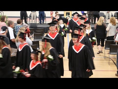 2018 Cannon Falls High School Graduation Ceremony