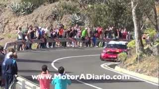 Luis Monzón Rally Islas Canarias 2013