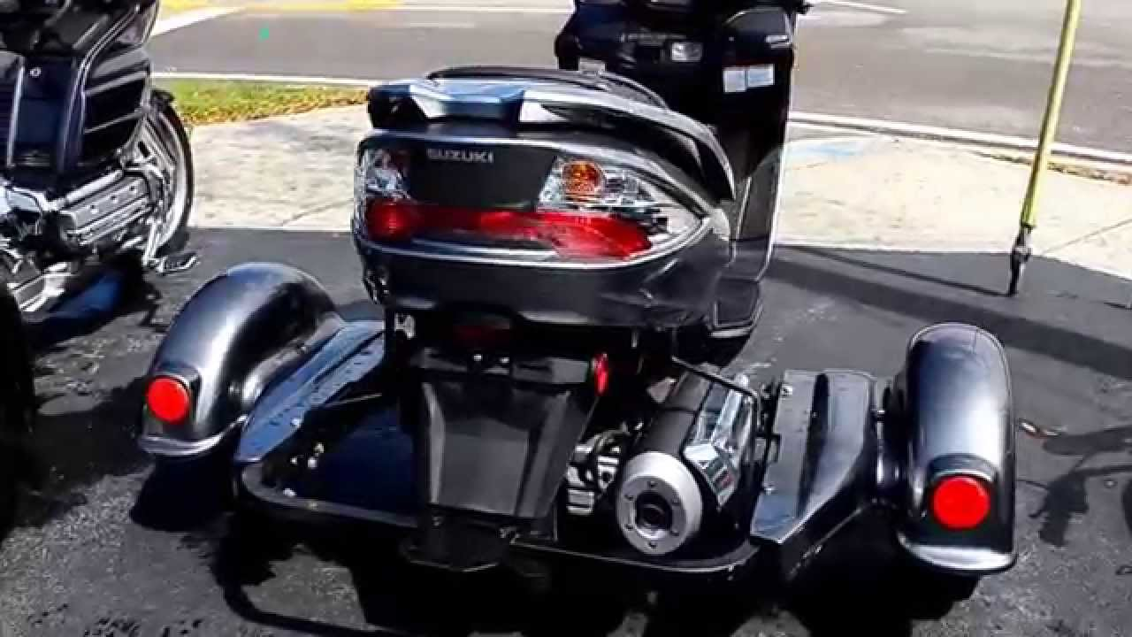 2011 suzuki burgman 400 trike youtube. Black Bedroom Furniture Sets. Home Design Ideas