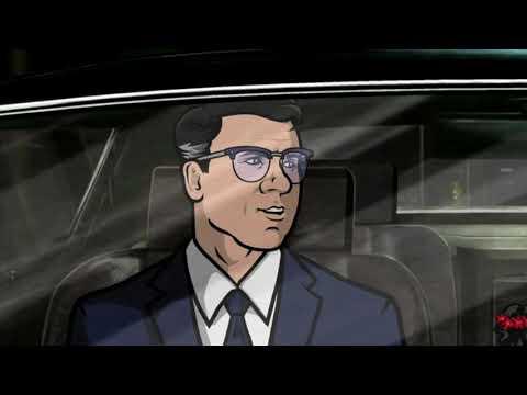 Спецагент Арчер 1 сезон 2 серия (смешные нарезки)