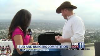Kkfx Morning: Amateur Chef Competes In Budweiser's Bud & Burgers