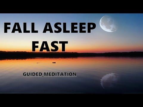 Fall Asleep Fast Guided meditation, Deep relaxation Hypnosis for sleep