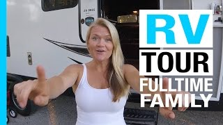 Hilarious RV Tour of our Fulltime Life in a Travel Trailer (Keep Your Daydream)