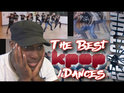 [TOP 35] The Best K-POP Dances REACTION!