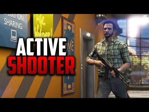 ACTIVE SHOOTER SITUATION | GTA 5 ROLEPLAY