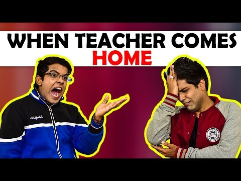 When Teacher Comes Home | The Half-Ticket...