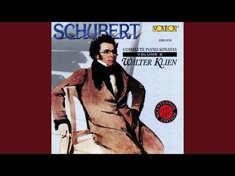 Piano Sonata No. 20 in A Major, D. 959: III. Scherzo. Allegro vivace