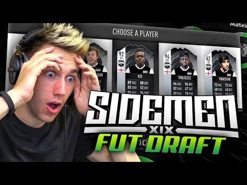 THE SIDEMEN DRAFT!