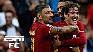 Roma hang on vs. Napoli in controversial match at the Stadio Olimpico | Serie A Highlights