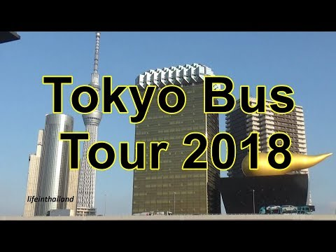 Tokyo in a day, Bus tour of Tokyo.