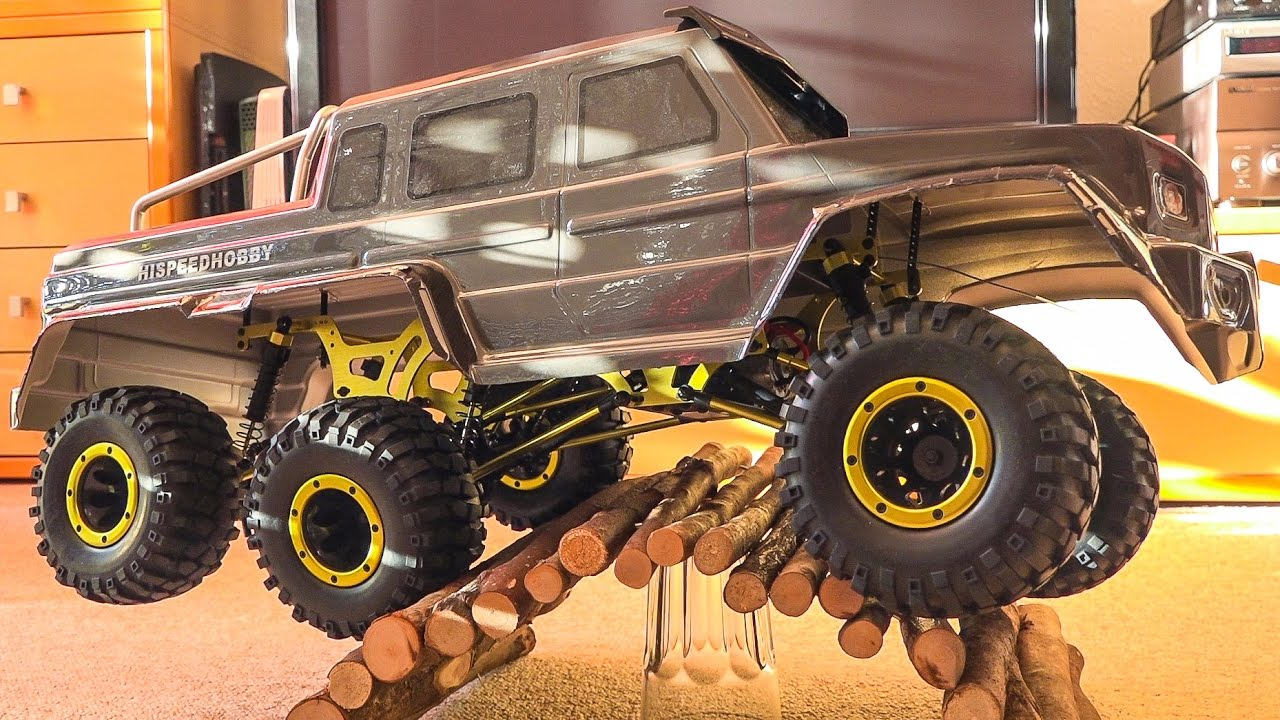 unboxing hsp rc monstertruck rtr crawler 6 x 6 climber. Black Bedroom Furniture Sets. Home Design Ideas