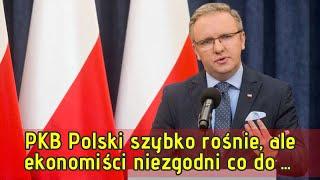 PKB Polski szybko rośnie, ale ekonomiści niezgodni co do prognoz