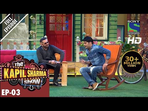 The Kapil Sharma Show - दी कपिल शर्मा शो-Episode 3-Yo Yo Ka Halla in Kapil's Mohalla–30th April 2016