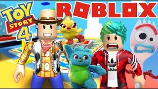 Adventures with Toy Story 4 Escape from Toy Story Roblox Karim Games Play